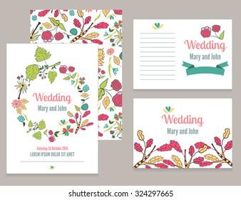 Fleren S Invitations Letterhead Templates Set On Shutterstock