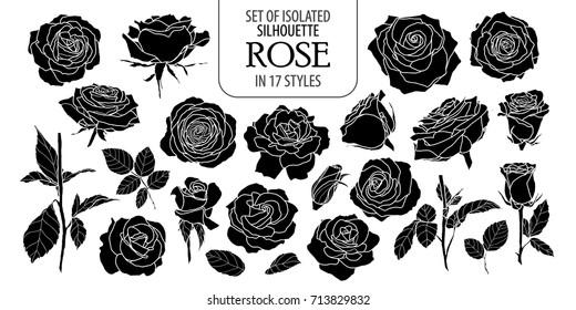 Contour Line Drawing Rose : Rose line art images stock photos vectors shutterstock