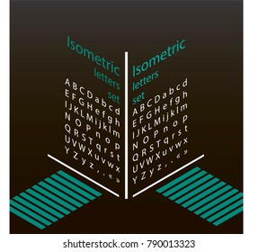 set of isometric letters