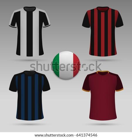 set of Italian football