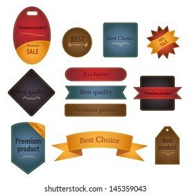 Set of labels for any store and promotions