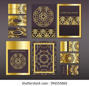 a set of leaflets from Mandala