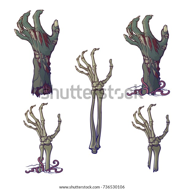 Rotted Zombie Hands