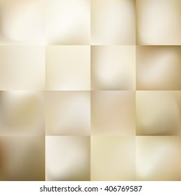 Set of Light gold gradient Mesh abstract background. EPS 10 vector file included