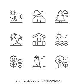 Landschaftssymbole festlegen