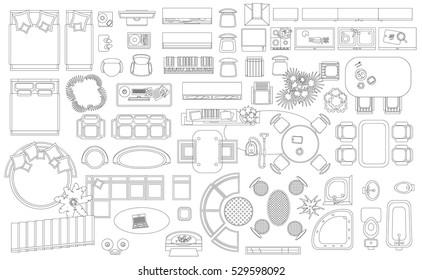 Floorplan Symbols Images Stock Photos Vectors Shutterstock