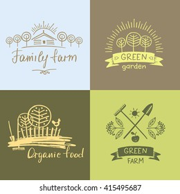 Garden Logo Images, Stock Photos & Vectors | Shutterstock
