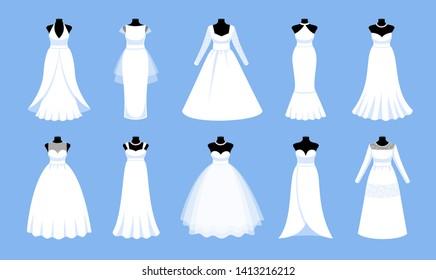 Vectores Imagenes Y Arte Vectorial De Stock Sobre Wedding Dress