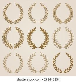 Monogram Wreath Images Stock Photos Vectors Shutterstock