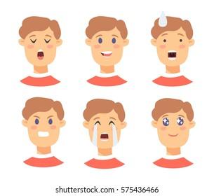 Ilustraciones, imágenes y vectores de stock sobre Tired Face