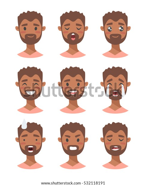 black cartoon characters male
