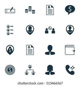 Set Of Management Administrator Icons On Business Goal, Money And Wallet Topics. Editable Vector Illustration. Includes Cash, Career, Organisation And More Administrator Vector Icons.