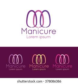 nail salon logo images stock photos vectors shutterstock rh shutterstock com best nail salon logos nail salon logo samples