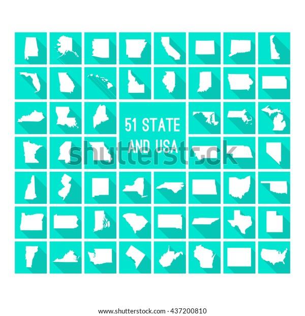 States Map on