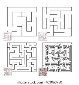 Set of Mazes 3
