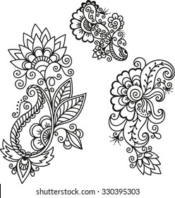 1000 Henna Flower Pictures Royalty Free Images Stock Photos And