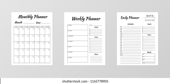 planner images stock photos vectors shutterstock