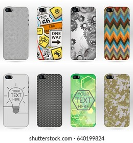 Set of Mobile phone covers.