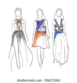 Fashion Sketch Images, Stock Photos \u0026 Vectors
