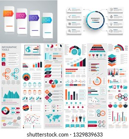 set of modern and creative infographic element for your business - vector eps10