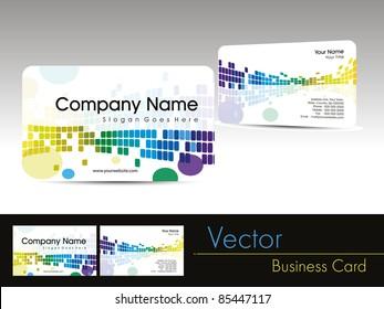 Carte Visite Design Publicitaire Images Stock Photos Vectors