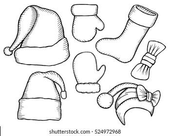 Sketched Santa Images, Stock Photos \u0026 Vectors