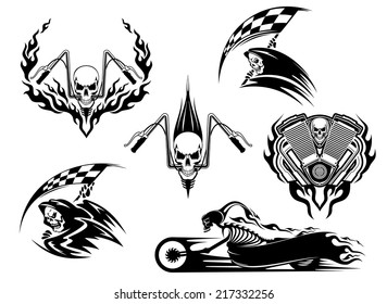 Motorcycle Flames Images Stock Photos Vectors Shutterstock