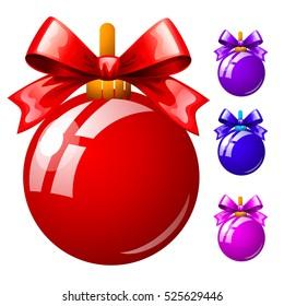 Christmas Bauble Cartoon Images Stock Photos Vectors