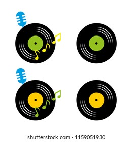 a set of music icons