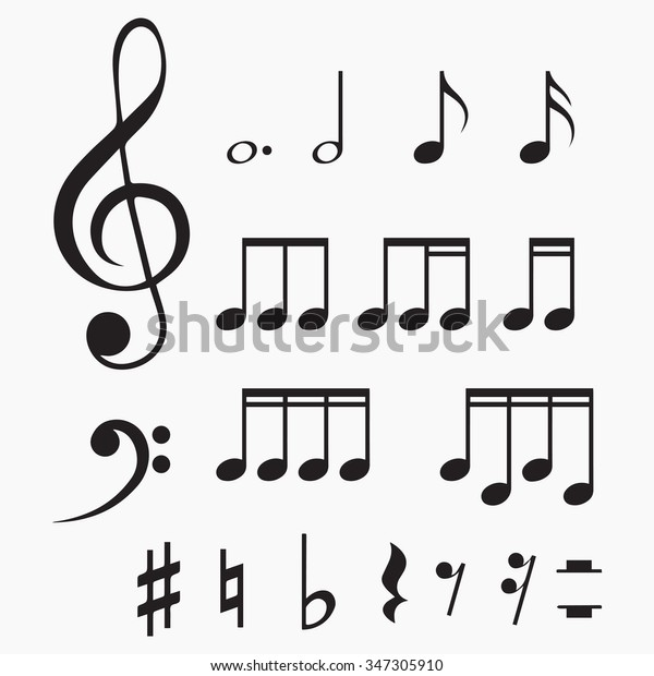Free Music Note Vector, Download Free Clip Art, Free Clip Art on Clipart  Library