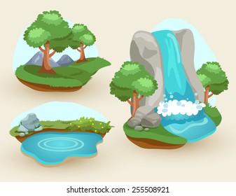 Set of natural scene