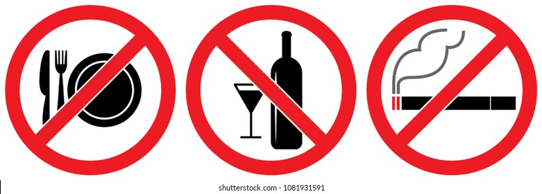 No Drinking Images, Stock Photos & Vectors | Shutterstock
