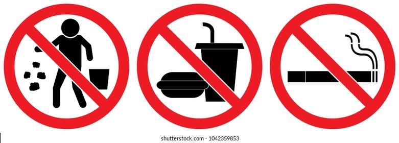 No Drinking Images, Stock Photos & Vectors | Shutterstock
