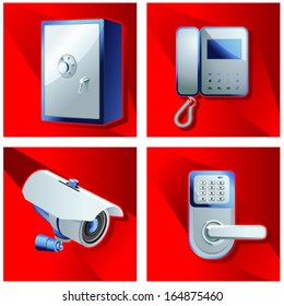 A set of objects of access control