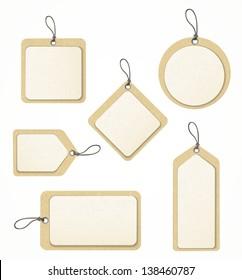 set of paper labels eps10