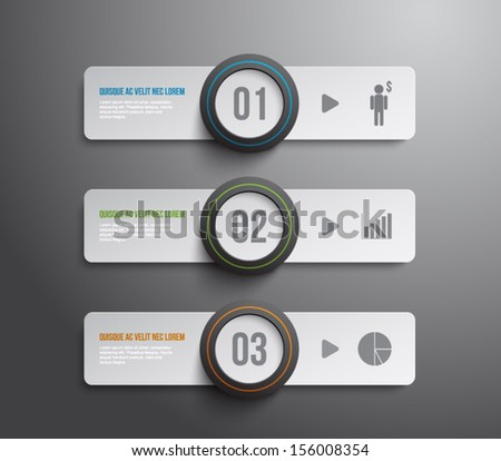 Set Paper Tags Banners Glossy Plastic Stock Vector (Royalty