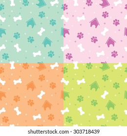 Set pattern for puppy