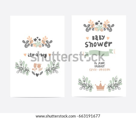 set perfect vector card templates ideal stock vector royalty free
