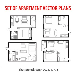 Floor Plan Studio Apartment Images, Stock Photos & Vectors ...
