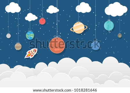 set of planets in