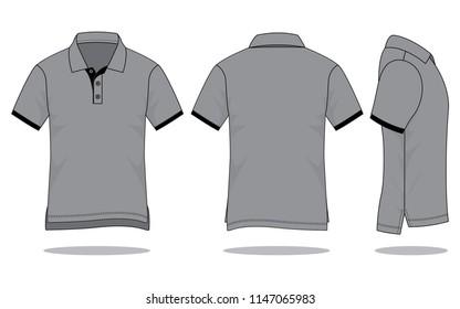 Polo Shirt Template Images Stock Photos Vectors Shutterstock