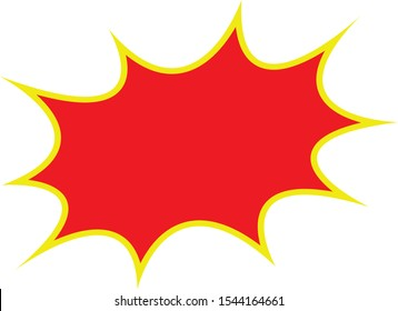 Set of price tags collection, discount tags, special offer. Modern red and yellow border design on a white background.