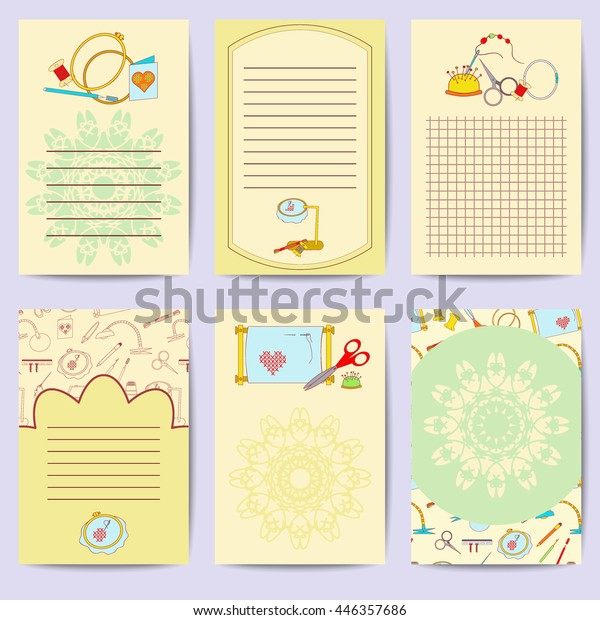 image relating to Free Printable Journal Cards identified as Mounted Printable Magazine Playing cards Shiny Assortment Inventory Vector