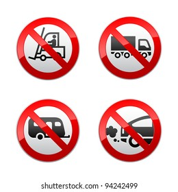 Set prohibited symbols - transport
