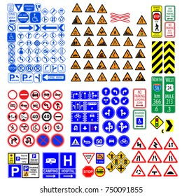 Gas Station Safety Signs Stock Vectors, Images & Vector Art