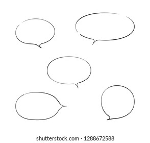 Set of round balloon