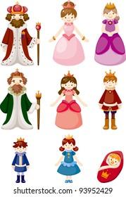 set of Royal people