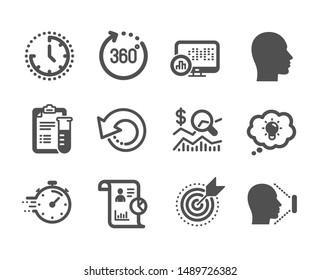 Imágenes, fotos de stock y vectores sobre Target Head Icon