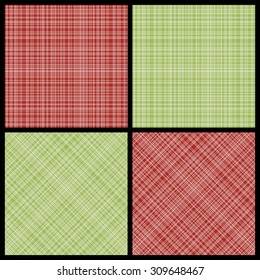 Set of seamless hatch patterns