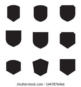 set of shield Symbol Icon Vector Illustration. Vector eps 10 - Vector